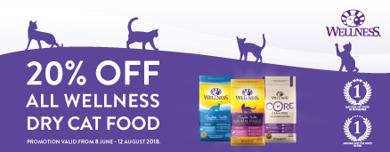Wellness Cat Dry Food Promotion